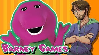 Download Barney the Dinosaur Games - SpaceHamster Video