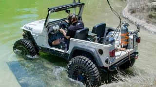 Download Diesel Jeep Drives 12 Feet Underwater! - Dirt Every Day Ep. 54 Video