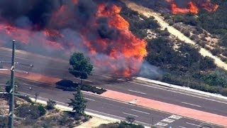 Download Southern California wildfires prompt mass evacuations Video