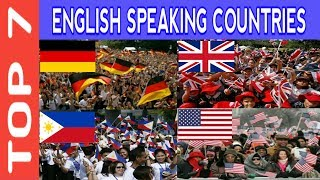 Download TOP 7 English Speaking Countries in the World 2017 Video