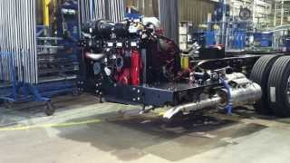 Download O'Brien Bus HDX Chassis Entering Body Plant Video