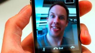Download EASY Video Calling on iPhone 4 - FaceTime Full Demo and Walkthrough - AppJudgment Video
