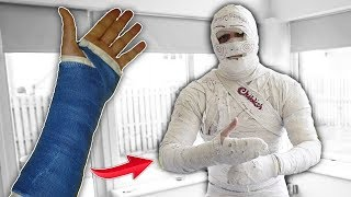 Download I Mummified My Entire Body With SOLID PLASTER CAST.. Video