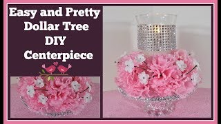 Download Pretty and Easy Dollar Tree DIY 🌸 Centerpiece for Wedding and Special Occasions Video