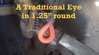 Download Forging a Traditional Eye in 1.25″ Round Bar Video