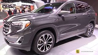 Download 2018 GMC Terrain - Exterior and Interior Walkaround - Debut at 2017 Detroit Auto Show Video