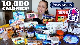 Download 10,000 CALORIE CHALLENGE (easy!) Video