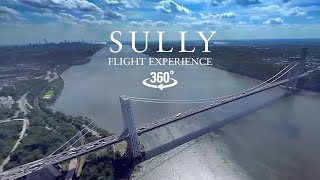 Download Watch a helicopter retrace Sully's landing in the Hudson in 360° Video