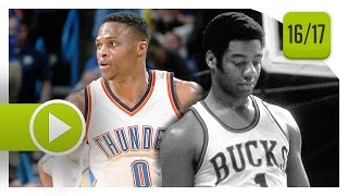 Download Russell Westbrook 41st Triple-Double Highlights vs Bucks (2017.04.04) - 12 Pts, 13 Reb, 13 Ast Video