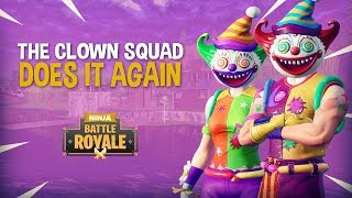 Download The Clown Squad Does It Again!! Fortnite Battle Royale Gameplay - Ninja Video