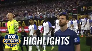 Download USA vs. Argentina | 2016 Copa America Highlights Video