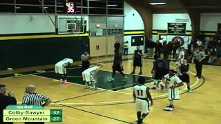 Download Colby-Sawyer College vs. Green Mountain College Men's Basketball Video