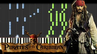 Download Pirates of the Caribbean Medley [Piano Tutorial] (Synthesia) // Kyle Landry + SHEETS/MIDI Video