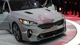 Download 2018 Kia Stinger GT Close-Up Look and Thoughts! Video