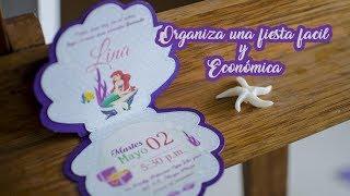 Download Ideas fáciles y económicas para fiesta de Sirenita   Easy ideas for Mermaid Party Video