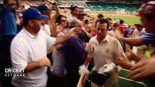 Download Emotions run high as Steve Waugh ends career Video