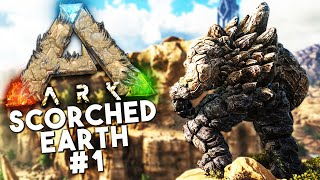 Download ARK Scorched Earth DLC: Episode 1 -DEATH WORM, GOLEM, WYVERN, DRAGONS (Ark: Survival Evolved) Video