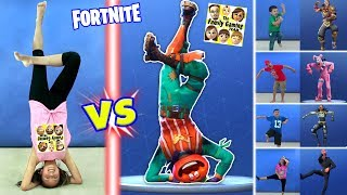 Download FORTNITE DANCE CHALLENGE in REAL LIFE All Dances Video