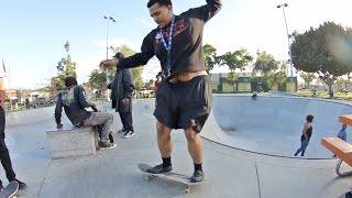 Download Fattest skateboarder I know! Video