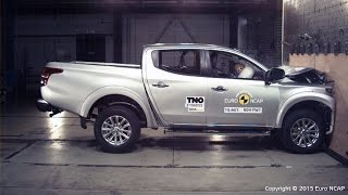 Download Mitsubishi L200 Triton Crash Test Euro NCAP Video