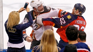 Download This is why fighting is allowed in pro hockey Video