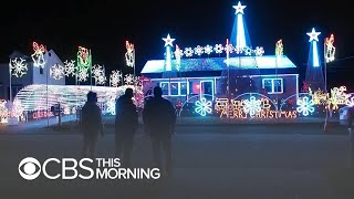 Download N.J. man facing fines for Christmas light show: ″This is my First Amendment right″ Video