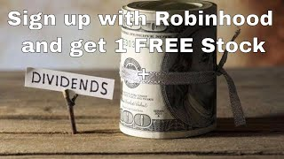 Download Get a Free Stock & Start Earning Monthly Dividends With My Fool Proof Method in the Robinhood App Video