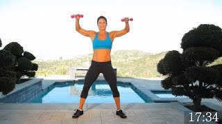 Download Full Body Workout with Weights At Home - Dumbbell Exercises for Strength Video