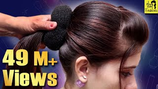 Download Beautiful Hairstyle for Wedding/party/Function | Hair Style Girl | Different Hairstyles for Party Video