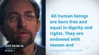 Download UDHR Video Article 1 English Zeid Ra'ad Al Hussein Video