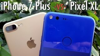 Download Google Pixel XL vs iPhone 7 Plus: The better bigger phone? Video