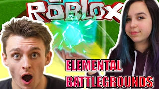 Roblox: Elemental Battlegrounds [SHOWCASE] LAVA, ICE, AND NATURE