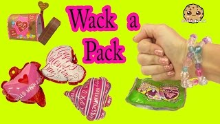 Download Wack A Pack Surprise Balloons + Valentines Day Cards Fun Unboxing Video - Cookieswirlc Video