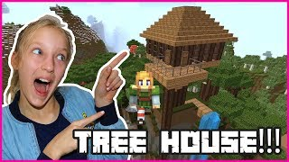 Download Awesome Treehouse in Minecraft! Video