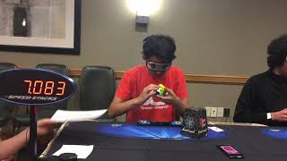 Download Rubik's Cube Blindfolded World Record: 17.85 Seconds Video