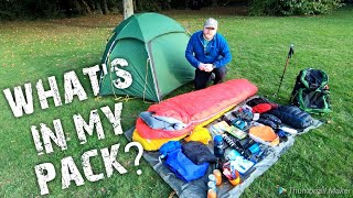 Download How I fit all my backpacking / wild camping gear into my osprey exos 48 backpack Video