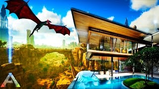 Download ARK SURVIVAL: Scorched Earth - BUILDING A MANSION - ARK SURVIVAL MOD (Ark Survival Evolved Gameplay) Video
