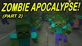 Download Minecraft | ZOMBIE APOCALYPSE! | City Zombie infestation! Video