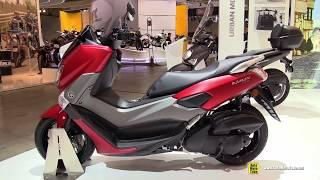 Download 2017 Yamaha NMax 155 Scooter - Walkaround - 2016 EICMA Milan Video