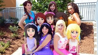 Download LEGO Friends Explore Heartlake City at LEGOLAND Florida - Andrea, Mia, Olivia, Stephanie and Emma Video