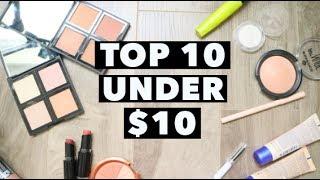 Download TOP 10 under $10 MAKEUP PRODUCTS Video