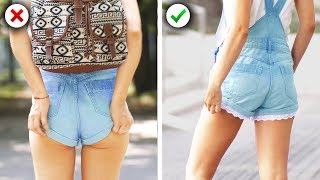 Download 13 Easy School Girl Fashion Hacks and Back to School DIY Clothes Ideas by Crafty Panda Video