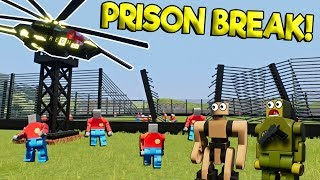 Download LEGO ROBOT JAILBREAK ESCAPE! - Brick Rigs Gameplay Roleplay - Lego Movie Apocalypse Video