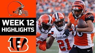 Download Browns vs. Bengals | NFL Week 12 Game Highlights Video
