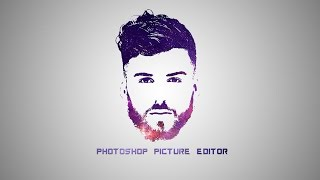 Download Photoshop Tutorial - Galaxy Logo Design From Face Video