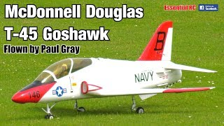 Download McDonnell Douglas T-45 GOSHAWK (Paul Gray, Jet Legend, 1.8m wingspan, Wren 80 turbine) Video