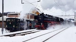 Download Br 01 202 DVZO Winterdampf 2019 Bauma (26.1.2019) Video