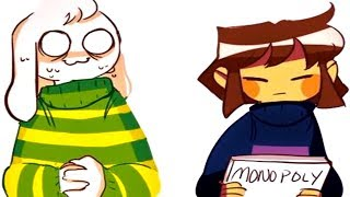 Download Asriel & Frisk's monopoly game doesn't go well. (Undertale Comic & Animation Dubs) Video