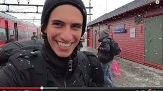 Download Oslo to Flam: Crazy Blizzard Train Ride! Video
