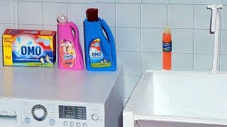 Download How to make laundry detergent and dishwashing liquid for doll (Monster High, EAH, Barbie, etc) Video